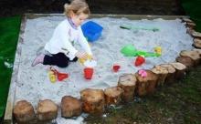 DIY Sandpit Ideas ไอเดียร์ทำกระบะทรายเล่นเองที่บ้าน