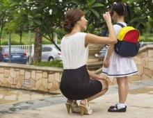 เมื่อลูกสุดที่รักต้องเข้าโรงเรียน