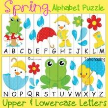 Number/Alphabet Puzzles