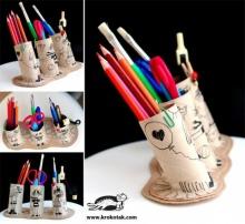 ศิลปะ/งานประดิษฐ์ จากแกนทิชชู - Toilet Roll Crafts