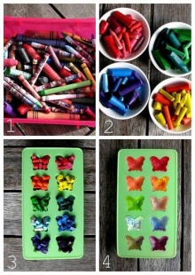 Recycle Broken Crayons