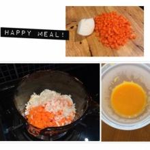 ข้าวตุ๋นแครอท