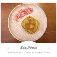 Baby Pancake - Apple Beetroot Sauce