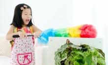 ฝึกลูกอย่างไร ให้เต็มใจช่วยแม่ทำความสะอาดบ้าน