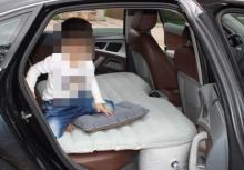 เพจดังเตือน!!พ่อแม่ใช้เบาะลมให้ลูกนอนตอนขับรถ อันตรายอาจถึงตาย!!