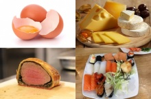 อาหาร 7 อย่างที่คนท้องไม่ควรกิน