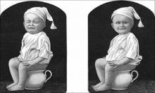รักษาอาการป่วยที่บ้าน: ลูกท้องผูก